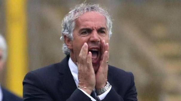 Roberto Donadoni, allenatore del Bologna Fc (Ansa)