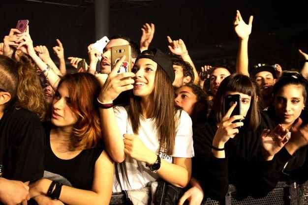 Fabri Fibra in concerto all'ObiHall di Firenze (foto Tania Bucci/New Pressphoto)