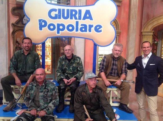 La giuria dei tartufai in tv