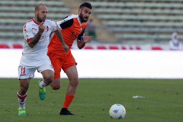 L'Ascoli sconfitta in casa del Bari per 3-0 (foto LaPresse)