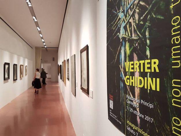 La mostra di Ghidini al Museo Il Correggio
