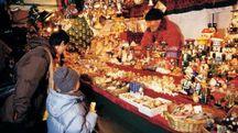Un mercatino di Natale