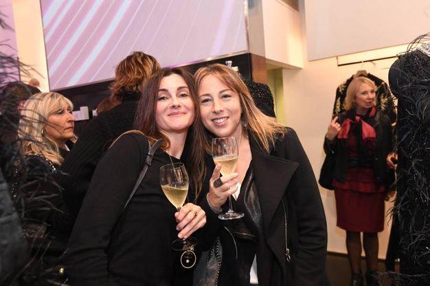 Francesca Lubiani ed Elena Brighenti (foto Schicchi)
