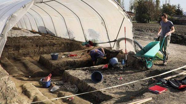 I tesori del villaggio della Terramara sono stati svelati dopo cinque settimane di scavi e lavoro