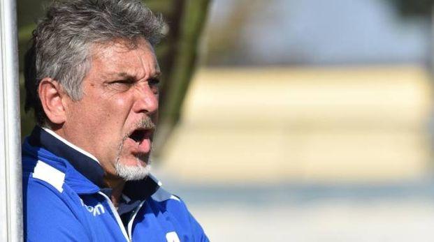 Attilio Bardi era alla sua duecentesima partita con il Forlì