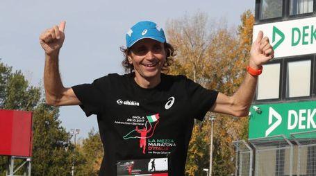 Giorgio Calcaterra in azione (Isolapress)