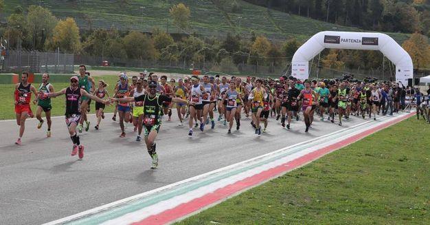 All'Autodromo di Imola la 'Mezza Maratona d'Italia' (foto Isolapress)