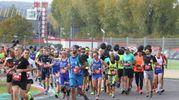 Una domenica all'insegna del running e della voglia di stare insieme per divertisi (foto Isolapress)