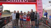 La Mezza maratona d'Italia con Giorgio Calcaterra (foto Isolapress)