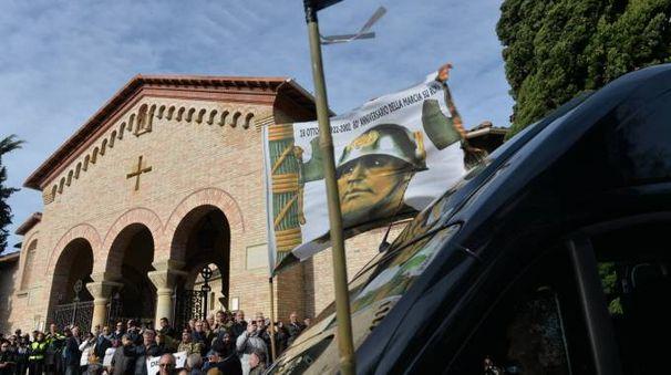 Predappio, 95° anniversario della Marcia su Roma (foto Frasca)