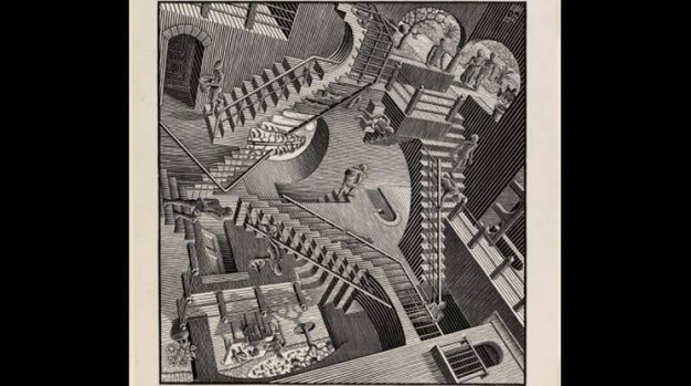 Escher-Palazzo Blu