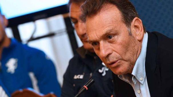Il presidente Cellino chiede al Brescia di divertirlo e di raccogliere risultati positivi