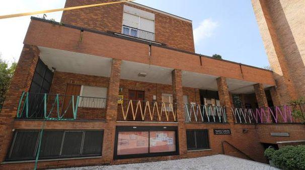 Il teatro Caboto chiuso