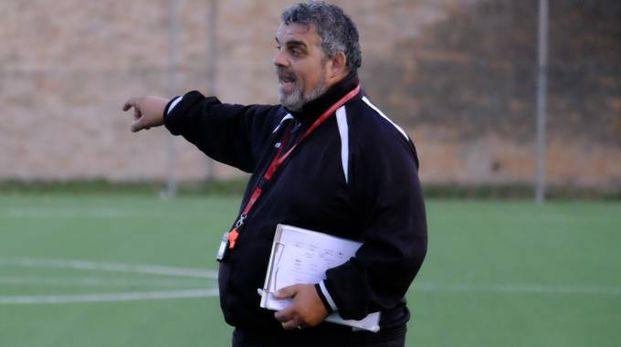 Eugenio Benuzzi nel primo allenamento a Forlì