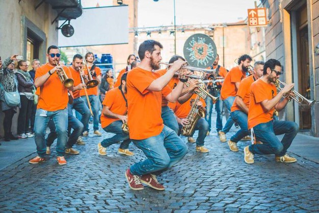 P-Funking band è attesa domenica 12 nelle vie cittadine