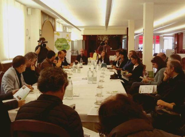 Un momento della conferenza stampa di presentazione della manifestazione