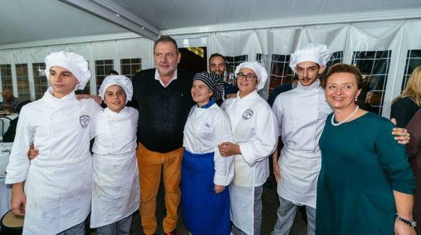 La festa per gli 80 anni del salumificio Ciriaci (foto Zeppilli)