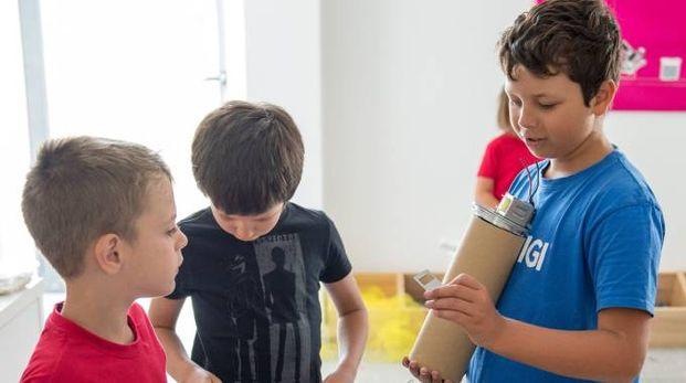 Lo scorso luglio i bambini più piccoli avevano progettato robot nei Tecno Summer Camp
