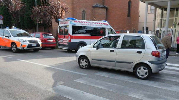 Il luogo dell'incidente (foto Frasca)