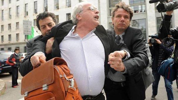 Mauro Palau Giovannetti allontanato dal tribunale qualche anno fa