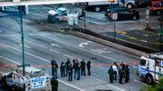 Attentato a New York, le immagini dall'alto (Afp)