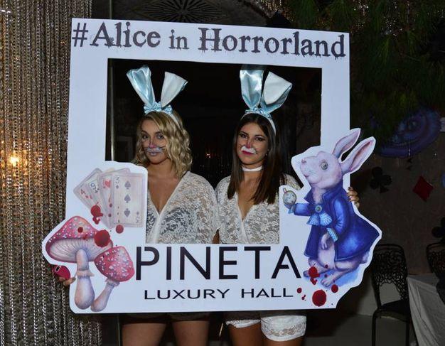Alice in Horrorland, festa di chiusura del Pineta (foto Carlo Morgagni)
