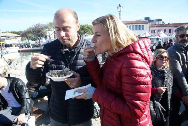 La festa del pesce a Cesenatico (foto Ravaglia)