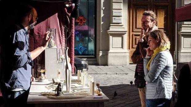 Il mercato di Artour in piazza Strozzi
