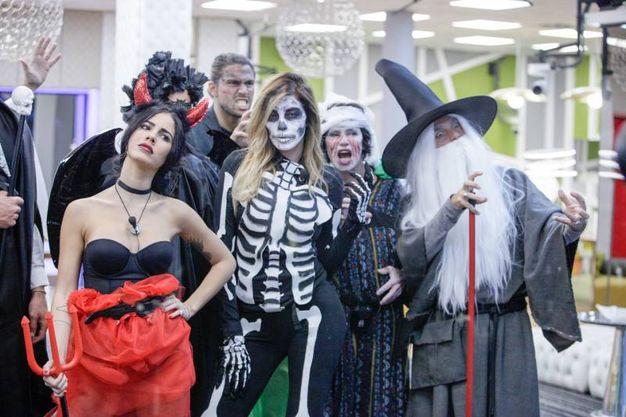 Grande Fratello Vip 2, la festa di Halloween