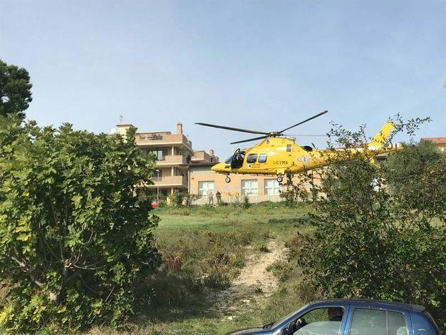 Porto Sant'Elpidio, donna caduta dalla finestra (foto Zeppilli)