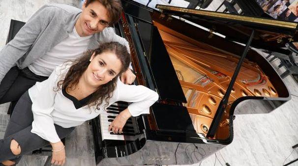 Il duo pianistico Eleonora Spina e Michele Benignetti