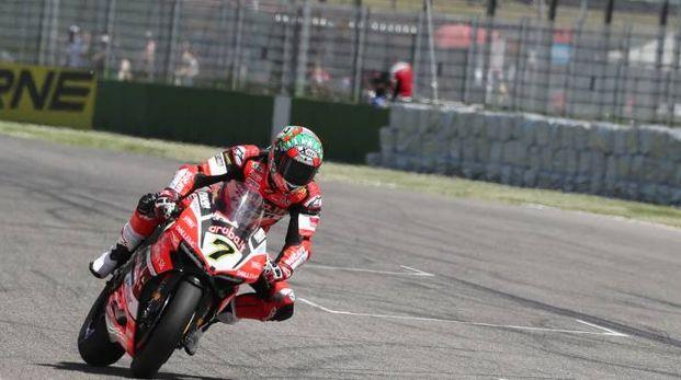 La superbike all'autodromo di Imola