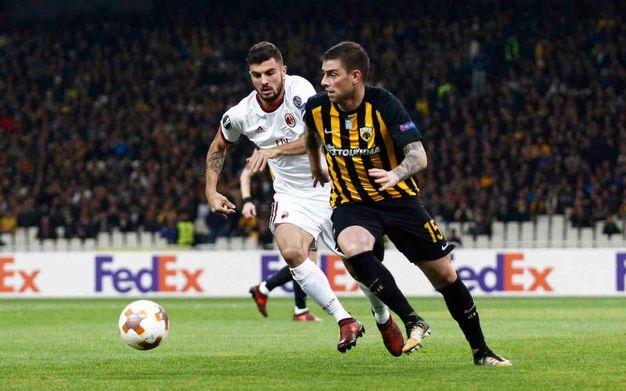 Milan- AEK Atene (La Presse)