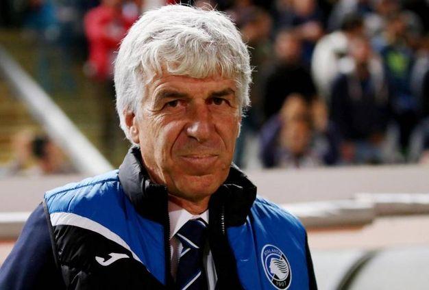 Gian Piero Gasperini, allenatore dell'Atalanta (Ansa)