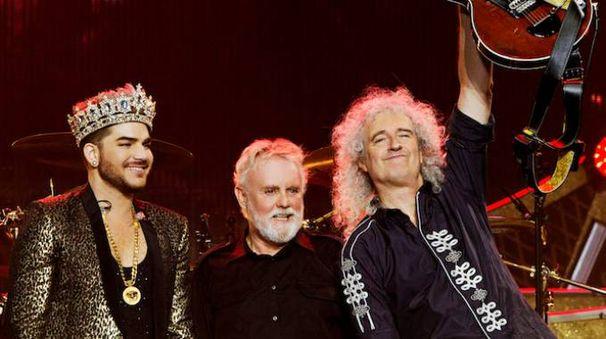 I Queen e Adam Lambert