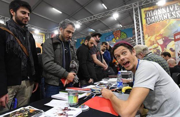 Un momento di Lucca Comics 2017 (Foto Alcide)