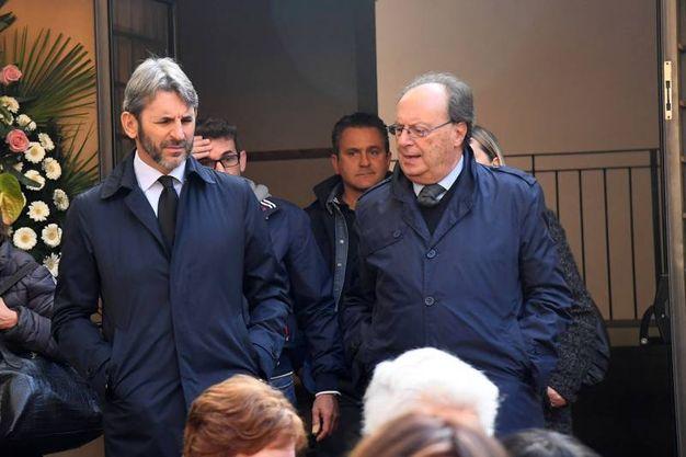 Stefano Dall'Ara e Daniele Fornaciari della Virtus (foto Schicchi)