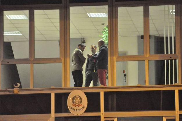 Il figlio e l'ex marito sono stati ascoltati come persone informate sui fatti durante la serata e la notte nella caserma dei Carabinieri di via della Montagnola (foto Antic)