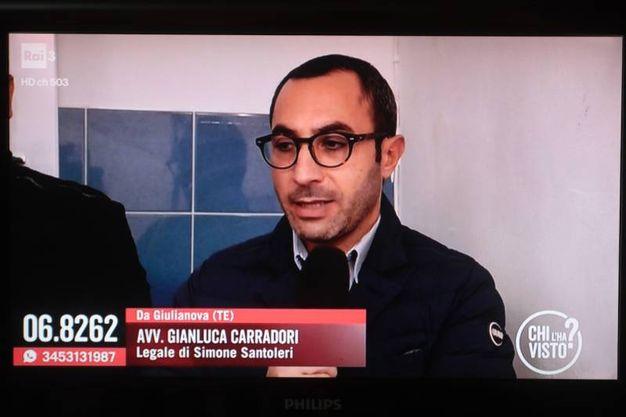 L'avvocato Gianluca Carradori, legale di Simone Santoleri (foto Antic)