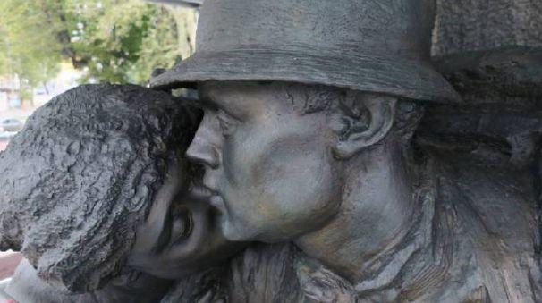 Un dettaglio del Monumento ai Caduti