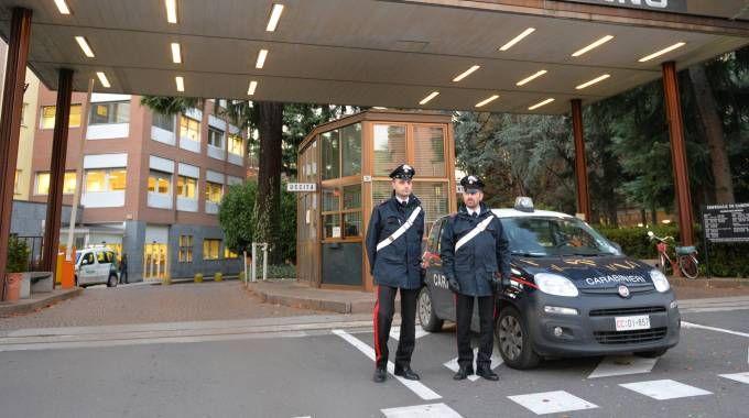 I carabinieri all'ospedale