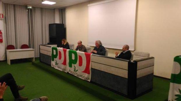 Il segretario comunale Procaccini con D'Angelo e Terrani