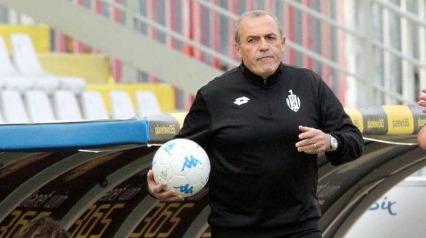 Mister Fabrizio Castori (foto Ravaglia)