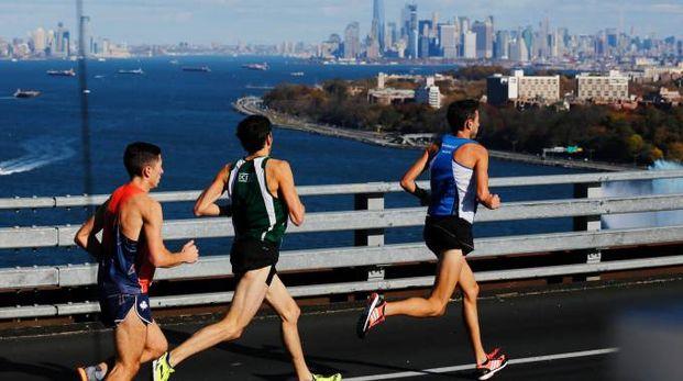 La maratona di New York, frequentatissima dagli italiani
