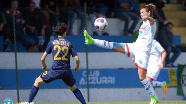 Capitan Girelli con una doppietta ha contribuito in modo prezioso al successo del Brescia