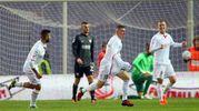 Il gol di Carletti chiude la partita: Carpi-Ascoli 4-2 (foto LaPresse)