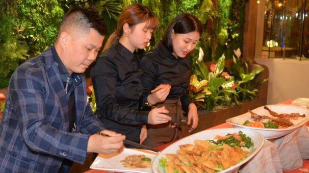 L'apertura di Giardino Wu (foto Frasca)