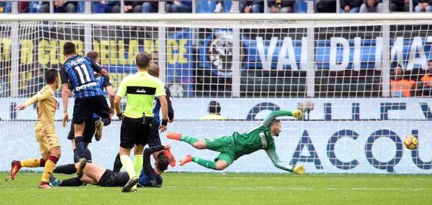 Il gol di Iago Falque del Torino 0-1 (LaPresse)