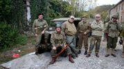 Collezionisti e appassionati di ricerche storiche provenienti da diverse zone della Romagna si è riunito a Borello per partecipare alle manifestazioni organizzate in occasione della festa delle Forze Armate (foto Ravaglia)