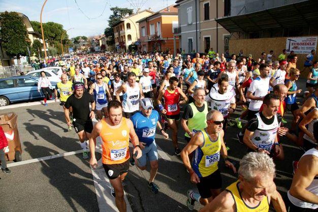 Il 42.o Giro dei Gessi a Cesena (foto Ravaglia)
